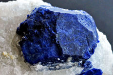 Intense blue Lazurite from Afghanistan - 7 x 5.9 x 4.3 cm - 162 gm