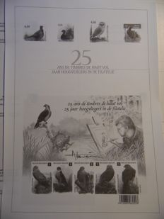 Belgium, complete year 2010, in minister sheets, OBP 3983-4088
