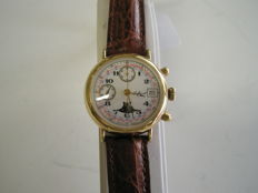 - Chronometer, Valjoux 7768, men's watch from the 1980s
