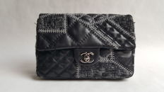 Chanel – Tweed Patchwork Flap bag – Limited edition