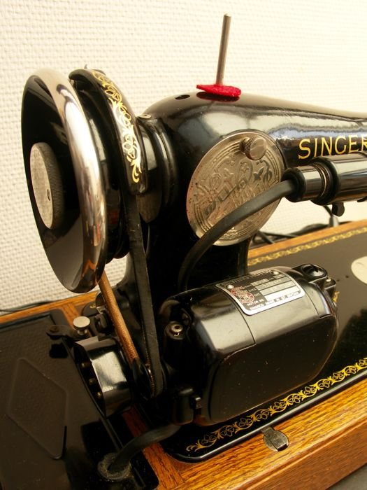 Singer 15K sewing machine with case, 1937 - Catawiki f98bcc1065c3