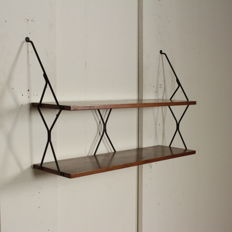 Unknown designer – suspended bookcase