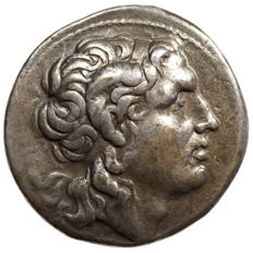 Antique Greece - Thrace, LYSIMACHOS (305-281 BC) AR tetradrachm, Amphipolis, Alexander Head