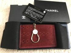 Chanel - Pony hair and leather card and keyholder