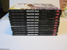 The walking dead 1 t/m 10 - 9x 1e druk - 1x 2e druk - 10x hc (2010/2011)