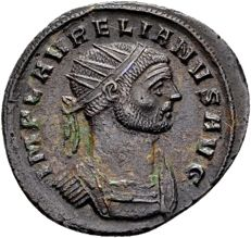 Roman Empire – Aurelianus 270-275, AE Antoninianus, struck in Siscia
