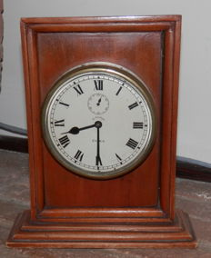 DOXA – table clock with wooden frame – 1930