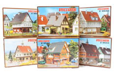 Vollmer Z - 9532/-42/-44/-46/-52/-73 - 6 Construction sets for cities and villages