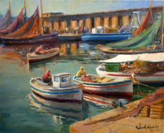Francisco Carbonell Massabé (1928) - Port de Palamós