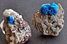 Rare Pentagonite and Cavansite specimens from India