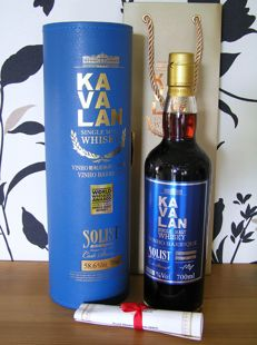 Kavalan Solist Vinho Barrique - King Car Distillery Taiwan - Bottled 2015