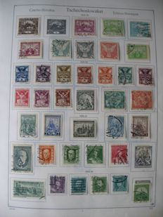 Czechoslovakia - collection, also with letters