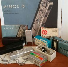 Minox B camera set. Like new!