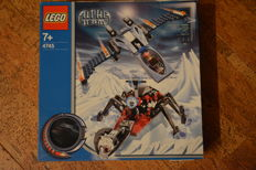Alpha Team - 4745 - Blue Eagle vs. Snow Crawler