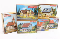 Vollmer Z - 9541/-53/-54/-60/-70/-74 - 6 Construction sets for cities and villages
