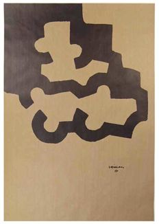 Eduardo Chillida - Lot of three pieces: Mármol y plomo, Composition II and Composition