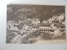 lot of 70 cards of Switzerland