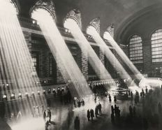 Hal Morey (20th century) - 'Sunbeams Into Grand Central Station' circa 1930