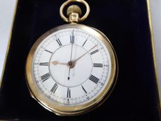 Swiss lever pocket watch --- ref no 275 — men — 1850-1900