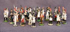 Franklin Mint - Échelle 1/32 - 37 pièces Collection Waterloo, régiments France napoleonais, 1980