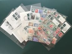 German Empire 1937/1939 – complete from Michel 643 to 713, including blocks, car exhibition and gallop runs