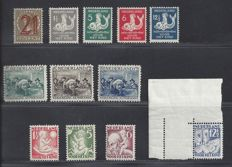 The Netherlands 1929/1930 - two complete years - NVPH 224 to 235