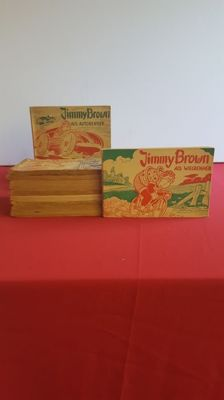 Jimmy Brown - complete serie - sc - 1e druk (1951/1960)