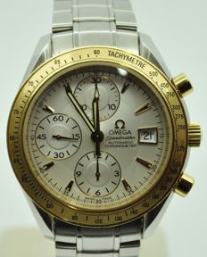 Omega — Speedmaster Gold and Steel — Men