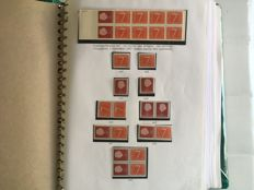 The Netherlands 1964/2001 - Collection of stamp booklets and combinations from stamp booklets