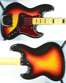 GRECO bass JB 75' Sunburst 70s JB600 Japan import