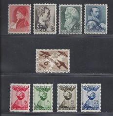 The Netherlands 1935 – Complete year – NVPH 274/277, 278, 279/282