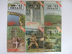 Magazines;  '40-'45 Toen & Nu - 40 issues - not dated.