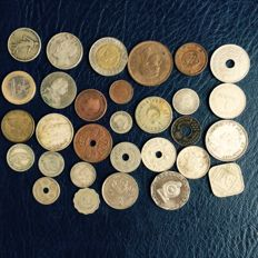World - Lot of 30 coins