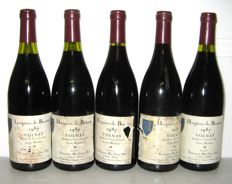 1987 Hospices de Beaune, Volnay Cuvée Blondeau, Charles Ninot, Lot 5 bottles