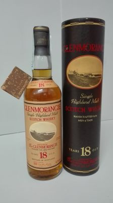 Glenmorangie 18 years old - early 1990s bottling