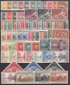 Spain 1930 – Quinta de Goya and Discovery of America – Edifil No. 499/516, 517/530, 531/546, 547/558, 559/565.