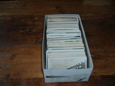 The Netherlands, a box full of topographical postcards, period: 1900 up to the 1960s, 440 x