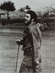 Alberto Korda (1928-2001) - 'Che Guevara playing golf' -  Havana - Cuba - 1961