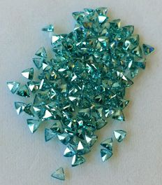 Lot of natural diamonds ct. 18.25