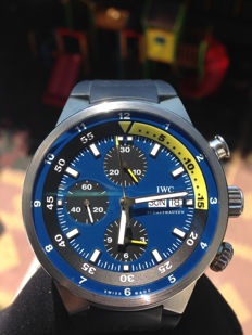 "IWC — Aquatimer Chronograph ""Tribute to Calypso"" Limited Edition — IW378203 — Men — 2010"