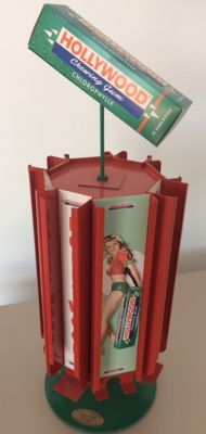 Hollywood Chewing gum display (France) - 100 copies, number 001