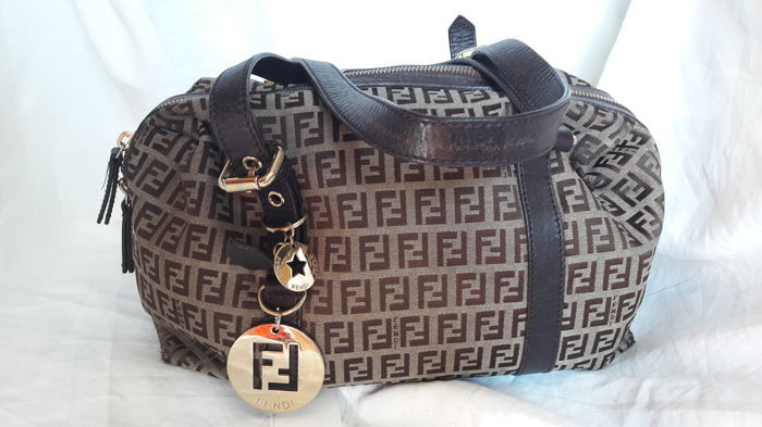 2da5bf908e23 ... ebay fendi zucca handbag shoulder bag b75b2 965eb