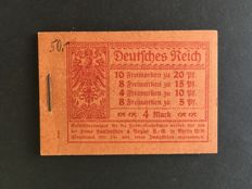 German Empire 1920 – Stamp booklet – Michel 13B.1.ndgz
