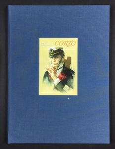"Various authors - portfolio ""Dedicati a Corto"", with 9x lithographs + card (2016)"