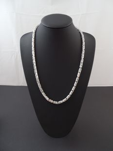 Silver 925 kt, king's necklace – 65 cm.