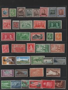 New Zealand 1875/1970 - collection on 3 stockpages