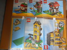 Lego Creator - 4996 + 31010 - Beach House + Tree House