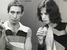 Christopher Simon Sykes (1948-)/Getty Images Archive  - Mick Jagger & Charlie Watts - The Rolling Stones - 1975