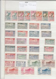 Former French Colonies – Stamp Collection – Inini – AEF – AOF and diverse countries