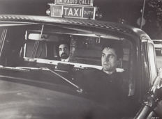 Steve Schapiro (1934-)/Columbia Pictures - Martin Scorsese and Robert de Niro in 'Taxi Driver' - 1976
